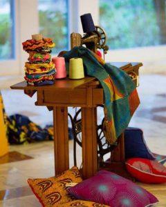 una sartoria etnica dove si fondono tessuti africani wax e made in italy
